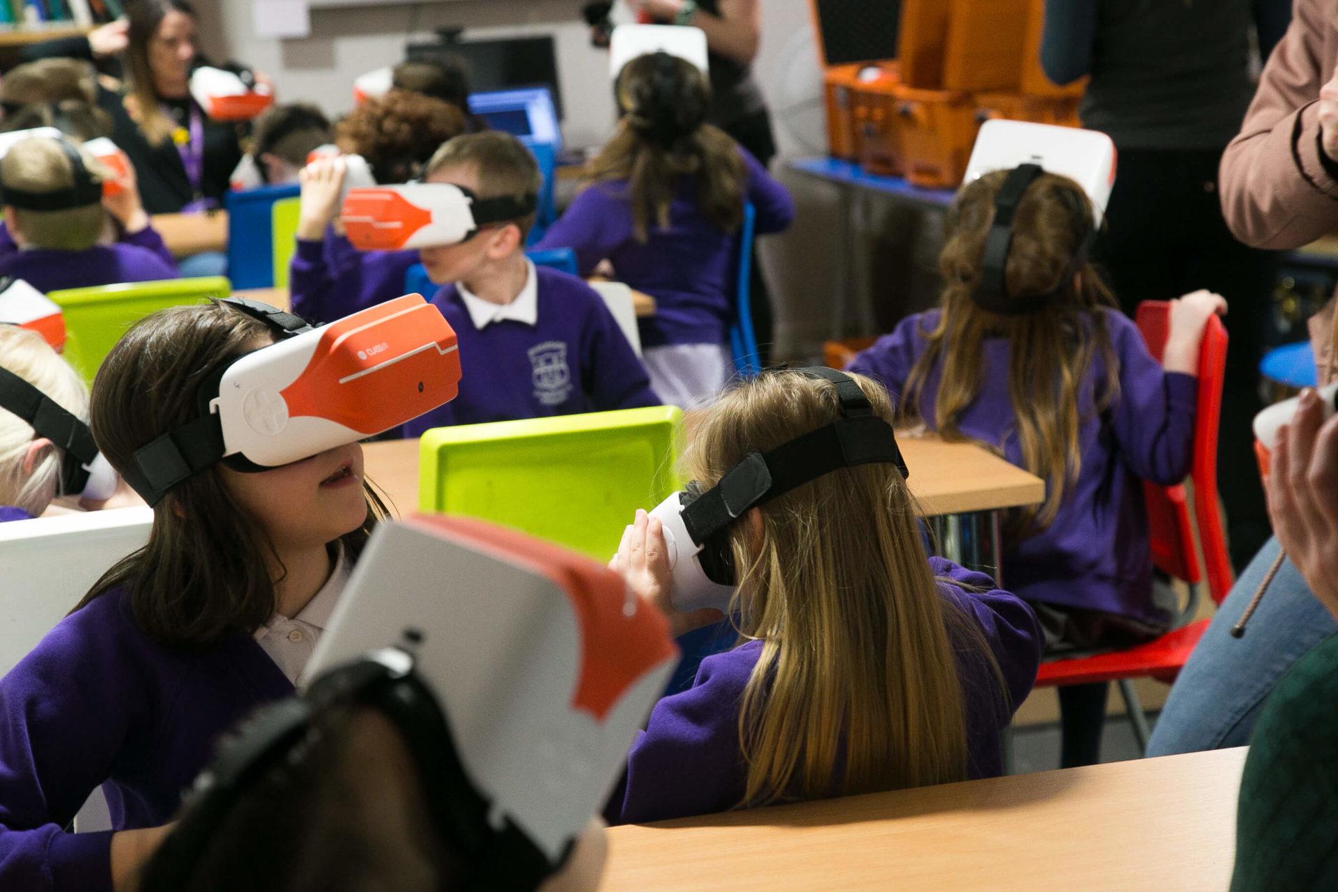 Children VR OCT