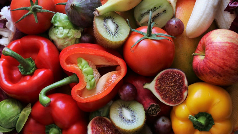 plant-based fruit and vegetables